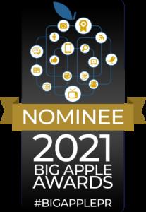 Big apple award 2021 nominee